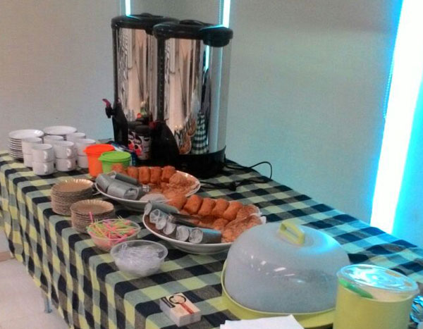 Adora Catering Coffee Break Display