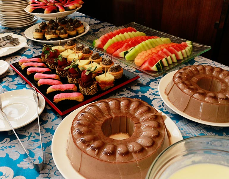 Boga Catering Dessert Display