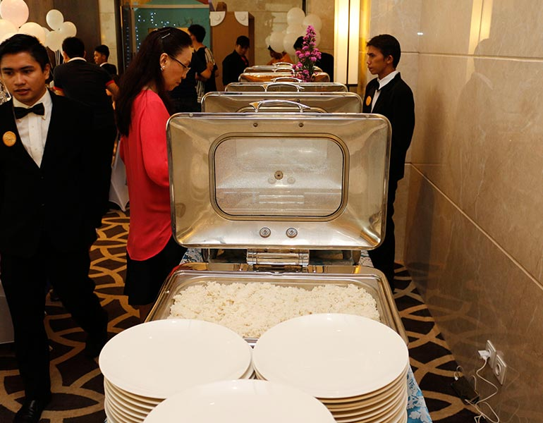 Boga Catering Display Buffet