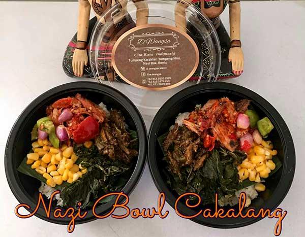 DWangsa Nasi Bowl Ayam Cakalang