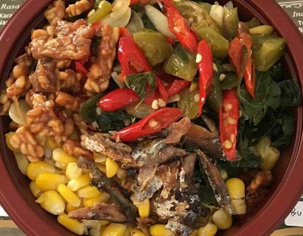 DWangsa Nasi Bowl Liwetan Ikan Peda