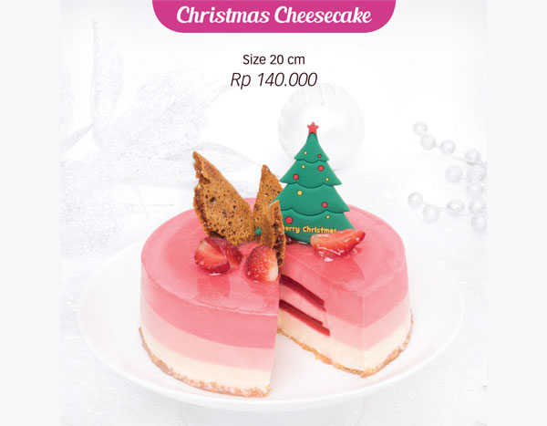 Holland Bakery Christmas Cheesecake