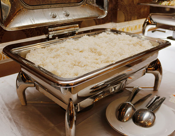 Ibu Djoko Catering nasi putih
