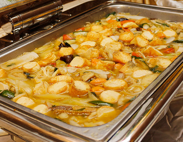Ibu Djoko Catering sapo tofu seafood