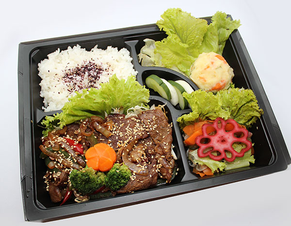 Beef Yakiniku Bento