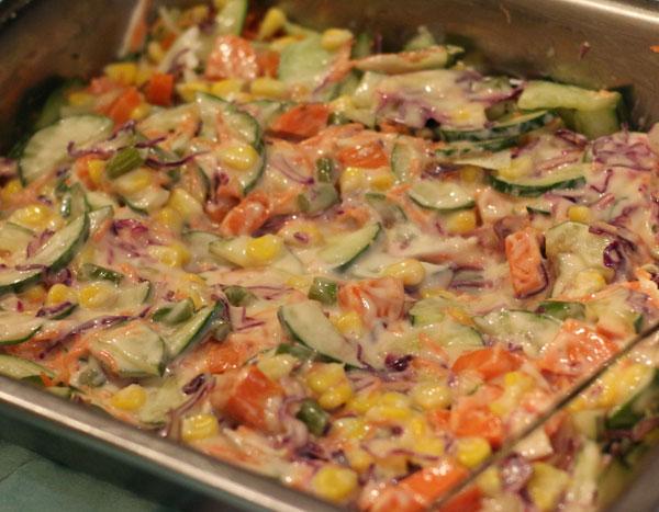 Izza Catering Vegetable Salad