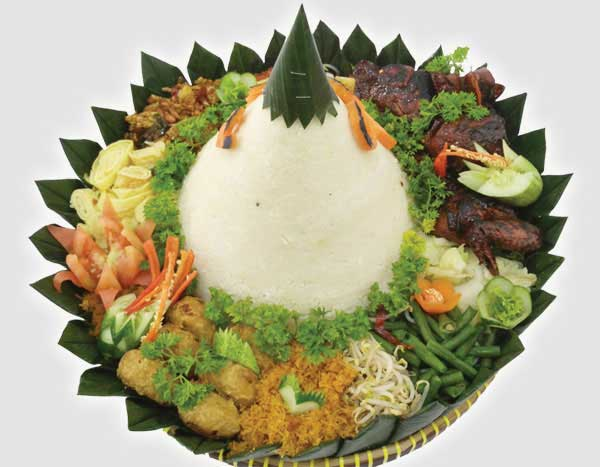 Nasi Tumpeng Tidar (6 Porsi)