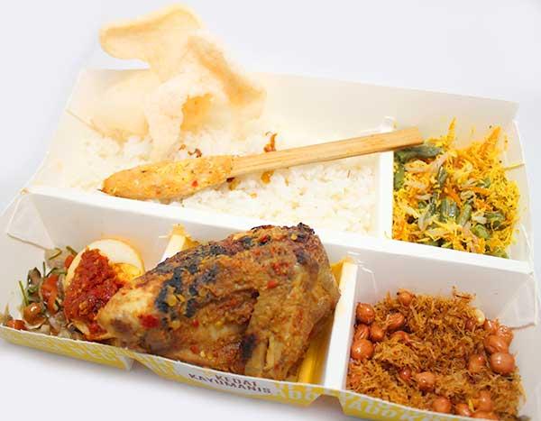 Kedai Kayumanis Paket Nasi Bali Ayam Betutu