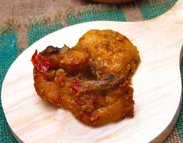 Porsi Ayam Mbledos