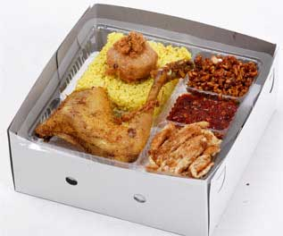 Mbah Jingkrak Nasi Kuning Ayam Goreng Kalasan (pj2)
