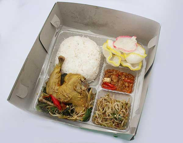 Mbah Jingkrak Nasi Ayam Kawul Kering Bihun (pb2)