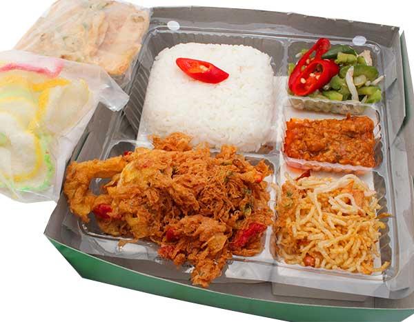 Mbah Jingkrak Paket Telur Dadar Mawut (psD)