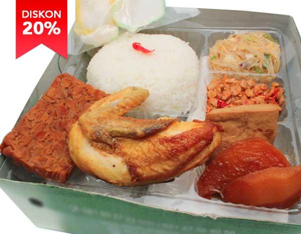 Mbah Jingkrak Paket Nasi Uduk Betawi