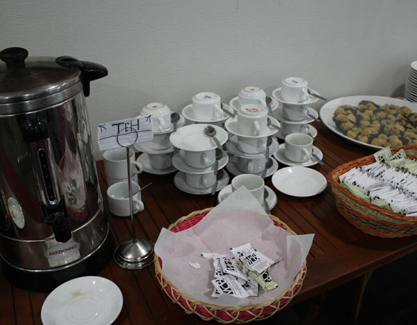 MCB Catering Coffee Break Display