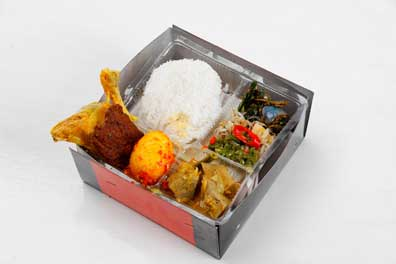 Sarimande Metropolitan Paket Ayam Rendang Telor (pkt 8)