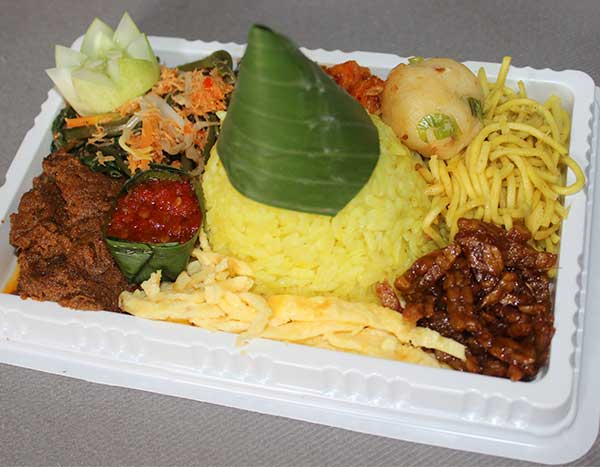 Tumpeng Mini Mantan Rendang Daging