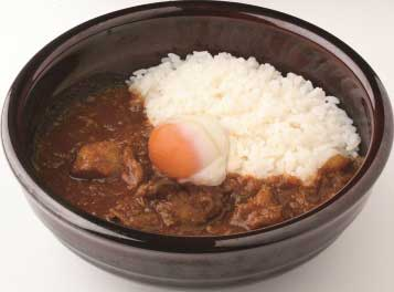 Sukiya Half Boiled Egg Curry