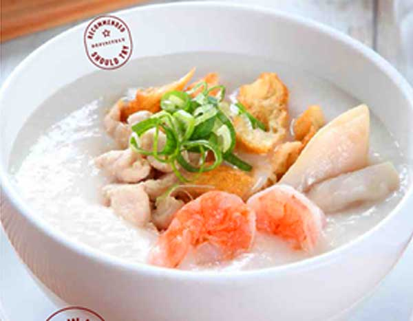 Paket Breakfast Bubur Ta Wan