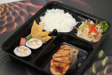 Teritorri Salmon Teriyaki Bento - Promo