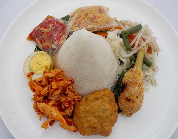 Paket Tumpeng Mini Nasi Bali