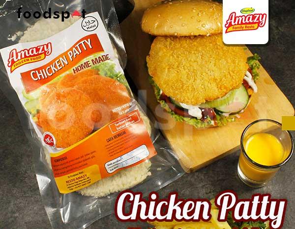 Amazy Chicken Patty Frozen Food