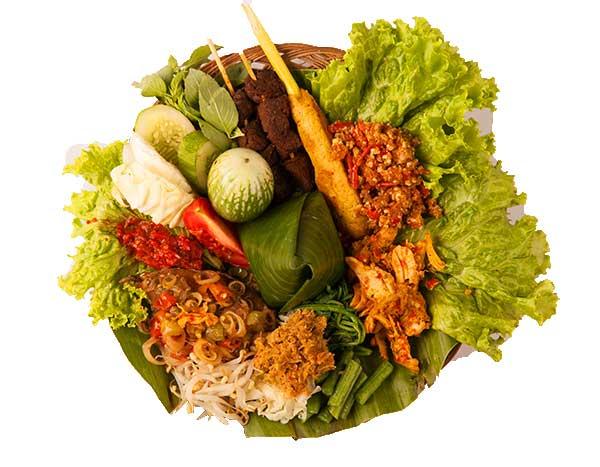 Prasmanan Nasi Bali