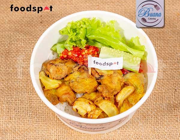 Rice Bowl Ayam Bawang