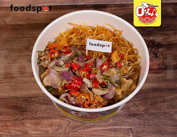 Rice Bowl Chicken Crispy Sambal Matah