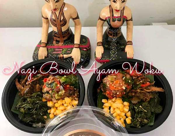 Nasi Bowl Ayam Woku