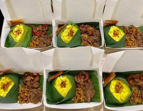 Paket Ekonomis - Nasi Kuning