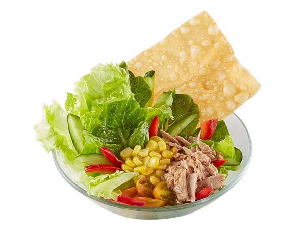 Tuna Salad with Thai Dressing Sauce