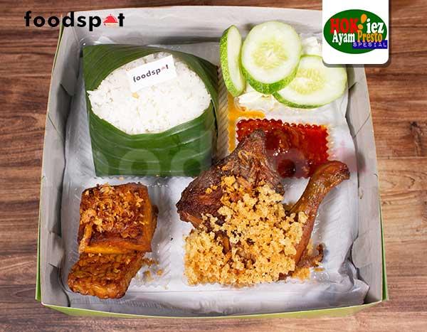 Paket Ayam Kremes