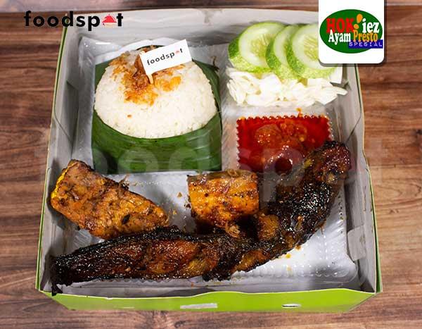 Paket Lele Bakar