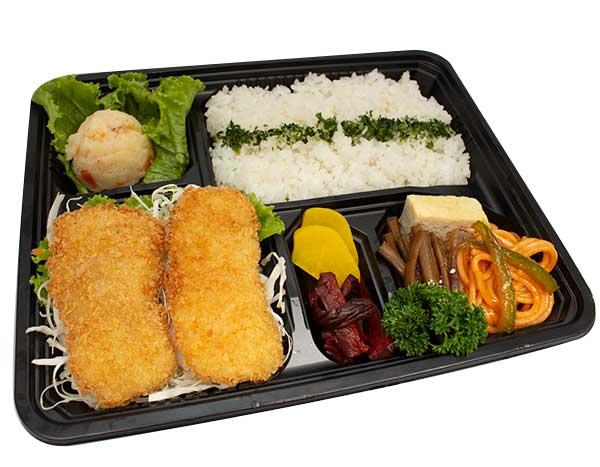 Shimori (Fish) Fry Bento