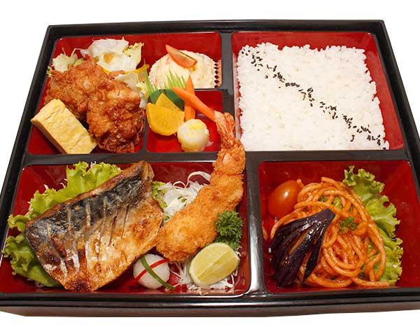 Sabashio Karaage Bento