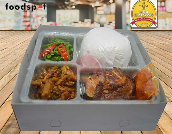 Nasi Ayam Gepuk Hemat