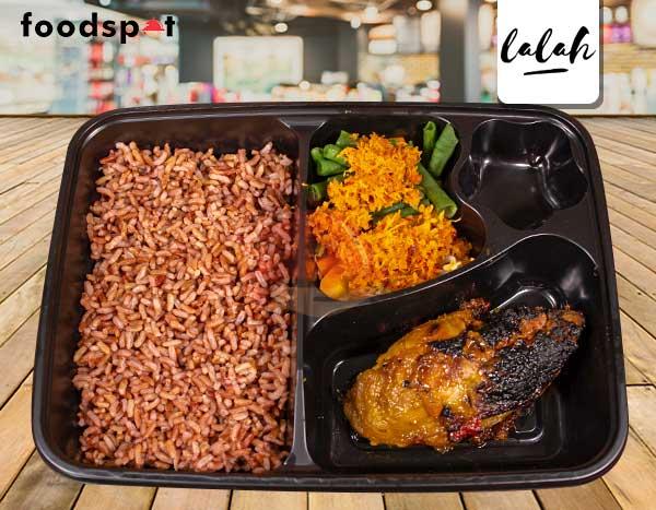 Paket Nasi Merah Ayam Bakar