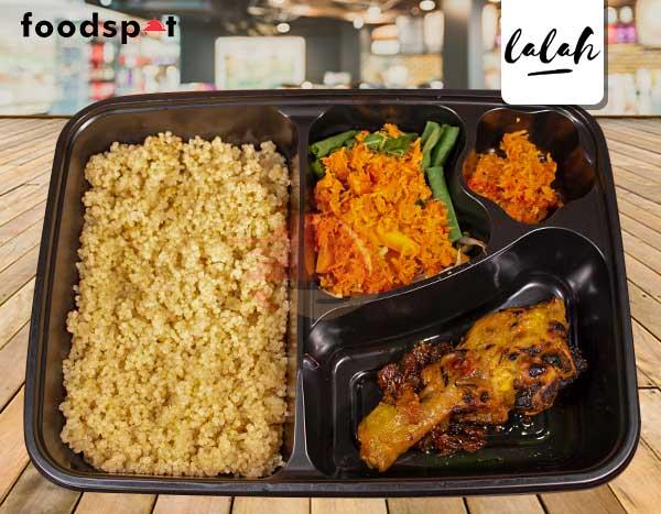 Paket Quinoa Ayam Bakar