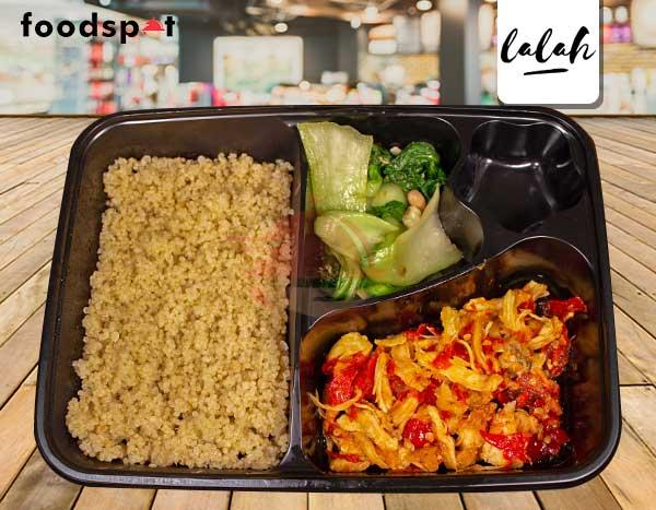 Paket Quinoa Ayam Suwir Bali