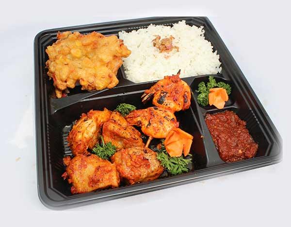 Paket Ayam Bakar Bumbu Rujak (pkt c)