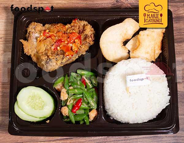 Paket Ayam Geprek