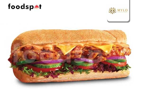 American Sandwich Spicy Mayo Chicken