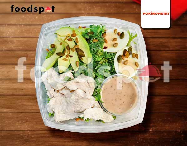 Chicken Avo Salad