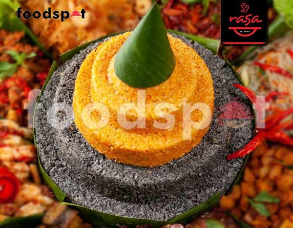 Nasi Mix Tinta Cumi dan Kaldu Udang