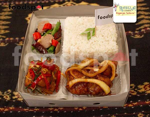 Paket Nasi Ayam Goreng Mentega
