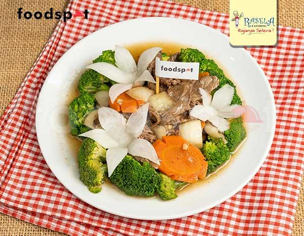 Brokoli Daging Sapi