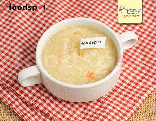 Soup Asparagus Kepiting