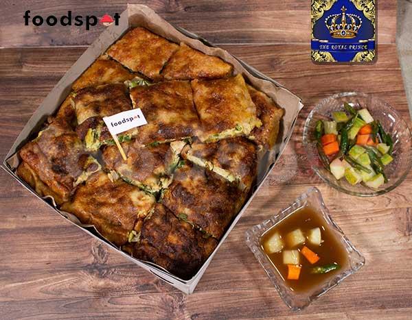 Chicken Curry Martabak