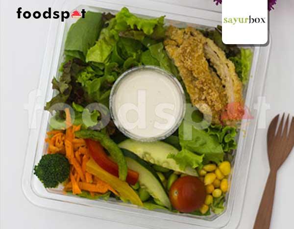 Chicken Salad with Caesar Dressing