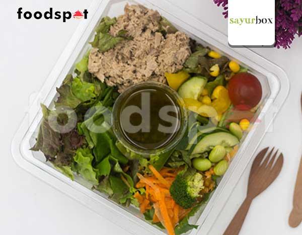 Tuna Salad with Plum Dressing